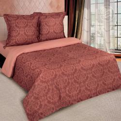 """Купить постельное белье поплин гладкокрашеный """"Византия коричневая"""" в Балашихе"""